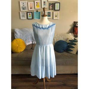 Dresses & Skirts - ✨ Vintage 50s-60s Retro Blue Dress